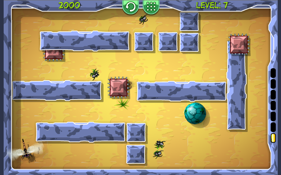 Screenshot Beetle Roll Free